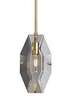 Недорогие -Люстра рассеянного света 110-120 В / 220-240 В, теплый белый, с лампой в комплекте