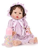 Недорогие -NPK DOLL Куклы реборн Куклы Девочки 20 дюймовый Безопасность Подарок Очаровательный Детские Универсальные / Девочки Игрушки Подарок