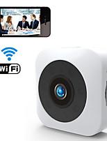Недорогие -Wi-Fi и беспроводной HD 1080p 2-мегапиксельная мини-камера мобильного телефона удаленного просмотра обнаружение движения сигнализация ночного видения 140