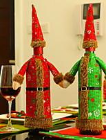 Недорогие -Рождественские украшения Мультяшная тематика Полиэстер Мини Мультипликация Рождественские украшения