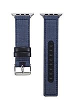abordables -Bracelet de Montre  pour Apple Watch Series 5/4/3/2/1 Apple Boucle Classique Tissu Sangle de Poignet