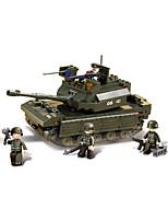 Недорогие -Конструкторы 312 pcs совместимый Legoing трансформируемый Все Игрушки Подарок