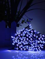 Недорогие -10 м Гирлянды 100 светодиоды Тёплый белый / RGB / Белый Для вечеринок / Декоративная / Праздник 85-265 V 1 комплект