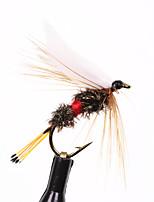 Недорогие -10 pcs Мухи Мухи Тонущие Bass Форель щука Морское рыболовство Ловля нахлыстом Пресноводная рыбалка Металл / Обычная рыбалка