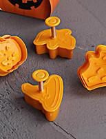 Недорогие -4шт ABS + PC Halloween Необычные гаджеты для кухни Десертные инструменты Инструменты для выпечки