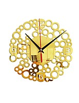 cheap -Wall Clock Shapes Wall Stickers Mirror Wall Stickers Decorative Wall Stickers, Acrylic Home Decoration Wall Decal Wall Decoration 1pc