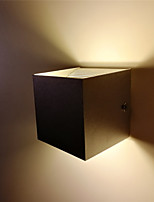 Недорогие -1 шт. 10 Вт крытый светодиодный настенный светильник современный вверх и вниз алюминиевый настенный светильник для спальни, прихожей, лестница украшения и освещения 85-265 В