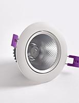 Недорогие -Новый светодиодный прожектор 5 Вт Встроенный потолочный прожектор Даунлайт Освещение магазина одежды и отелей