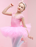cheap -Swan Lake Ballet Dancer Dress Tutu Girls' Movie Cosplay Purple / Pink / Blue Dress Cotton