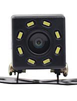 Недорогие -Вид сзади автомобиля ночного видения 8 светодиодные камеры заднего вида HD видео водонепроницаемый заднего хода парковочный монитор CCD 170 градусов широкоугольный