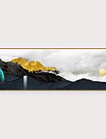 Недорогие -Отпечаток в раме Набор в раме - Абстракция Пейзаж Полистирен Фотографии Предметы искусства