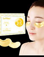 Недорогие -10packs10pairs lamilee gold aquagel коллагеновая маска для глаз нестареющая маска для сна пятна вокруг глаз темные круги лица уход за кожей отбеливание