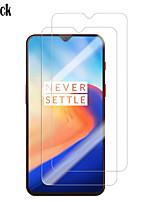 Недорогие -защитная пленка для экрана oneplus 7 / 6t / 6 / 5t / 3t высокой четкости (hd) защитная пленка для экрана 2 шт. закаленное стекло