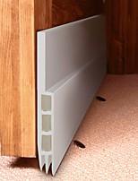 Недорогие -90см самоклеющаяся силиконовая нижняя дверная оконная лента резиновая уплотнительная лента для ванной ленты звукоизоляция