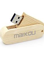 Недорогие -maikou деревянная флешка usb3.0 вращающаяся флешка usb 256гб
