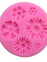 Недорогие -1шт кремнийорганическая резина Новогодняя тематика Для торта Десертные инструменты Инструменты для выпечки