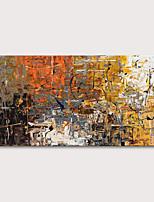 Недорогие -Hang-роспись маслом Ручная роспись - Абстракция Абстрактные пейзажи Modern Без внутренней части рамки