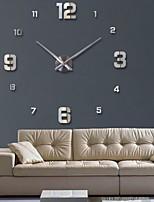 Недорогие -часы часы настенные часы horloge 3d diy акриловые зеркало наклейки украшения дома гостиная кварцевые иглы