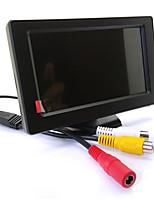 Недорогие -4,3-дюймовый HD-зеркало заднего вида кнопка управления 2-сторонний AV-вход ЖК-дисплей