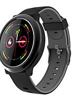 Недорогие -Для пары Смарт Часы Цифровой Стильные силиконовый Красный / Серый / Желтый 30 m Пульсомер Bluetooth Smart Аналоговый Мода - Желтый Красный Серый Два года Срок службы батареи / Нержавеющая сталь