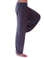 Недорогие -Муж. Жен. Гарем Луч Штаны для йоги Сплошной цвет Модал Фитнес Тренировка в тренажерном зале Панталоны Нижняя часть Спортивная одежда Дышащий Быстровысыхающий Мягкий Эластичная Свободный силуэт