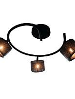 Недорогие -3-Light Потолочные светильники Рассеянное освещение Окрашенные отделки Металл Защите для глаз, Новый дизайн 110-120Вольт / 220-240Вольт