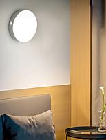 Недорогие -BRELONG® 1шт Ночные светильники Теплый белый + белый USB Перезаряжаемый / Простота транспортировки / Датчик человеческого тела 5 V
