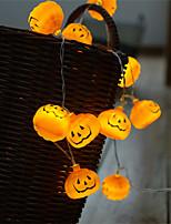 Недорогие -1 шт. Coquimbo 1.5 м 10 светодиодов хэллоуин тыква светодиодные огни строки сад украшения дома партии праздник строки свет хэллоуин огни