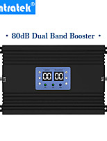 Недорогие -lintratek 80db с высоким коэффициентом усиления мощный GSM 4G Усилитель сигнала lte 900 МГц 1800 МГц 25 дБм сотовый телефон ретранслятор сотовой связи с AGC и MGC