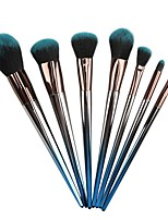 Недорогие -профессиональный Кисти для макияжа 7pcs Мягкость Новый дизайн удобный Пластиковый корпус за Косметическая кисточка