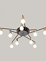 Недорогие -JSGYlights 10-Light Спутник / Линейные Потолочные светильники Рассеянное освещение Электропокрытие Окрашенные отделки Металл Новый дизайн 110-120Вольт / 220-240Вольт
