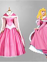Недорогие -Вдохновлен The Little Mermaid Принцесса Аниме Косплэй костюмы Японский Платья Платье Назначение Жен.