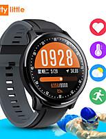 Недорогие -новый sn80 умный телефон вахты bluetooth alert измеритель погоды шаг мониторинг артериального давления сердечного ритма водонепроницаемый спортивный браслет