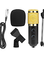 cheap -USB Wired Condenser Microphone with Tripod Stand Microphone Clipfor PC Macbook for Online Teaching Chatting