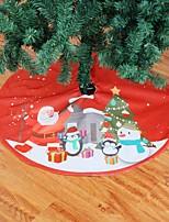 Недорогие -Рождественская елка юбка ковер 90 см украшения для дома фартуки новогоднее украшение