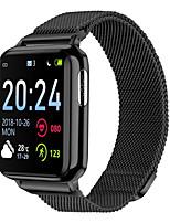 Недорогие -Смарт Часы Цифровой Современный Спортивные силиконовый 30 m Защита от влаги Пульсомер Bluetooth Цифровой На каждый день На открытом воздухе - Черный Белый Серебряный