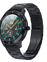 cheap -Smartwatch Digital Modern Style Sporty PU Leather 30 m Water Resistant / Waterproof Heart Rate Monitor Bluetooth Digital Casual Outdoor - Black Black / Gray White / Brown