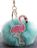 Недорогие -Брелок Птица корейский Милая Мода Модные кольца Бижутерия Черный / Светло-синий / Белый Назначение Повседневные На выход
