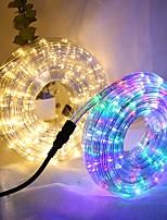 Недорогие -10 м Гибкие светодиодные ленты 360 светодиоды RGB Творчество / Для вечеринок / Декоративная 85-265 V 1 комплект