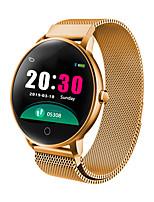 Недорогие -V5 Smart Watch BT Поддержка фитнес-трекер уведомления / пульсометр Спорт из нержавеющей стали Bluetooth-совместимые SmartWatch IOS / Android телефоны