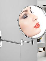 Недорогие -зеркало в ванной на стене зеркало из нержавеющей стали туалет складной телескопический двойной макияж зеркало