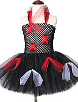 Недорогие -Новое поступление без рукавов детские платья короткая сцена выступления пачка одежды