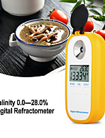 Недорогие -Цифровой рефрактометр Dr201 солености Удельный вес 028% рефрактометр Пищевая соль тестер натрия хлорид nacl