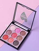 Недорогие -9 цветов Тени Повседневные Легко для того чтобы снести / Многофункциональный / Cool / Милый / Молодежный Другое На каждый день Удобный Повседневный макияж косметический