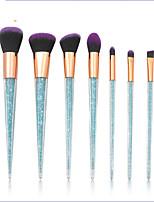 Недорогие -профессиональный Кисти для макияжа 7pcs Sexy Lady Градиент Пластик за Косметическая кисточка