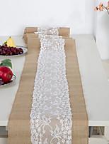 Недорогие -Современный 75 гр / м2 полиэфирная эластичная ткань куб Скатерти Настольные украшения