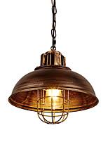 Недорогие -винтаж с индустриальной металлической клеткой лофт подвесные светильники гостиная столовая прихожая кафе бары кухня подвесное освещение