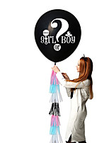 Недорогие -Воздушный шар эмульсионный 2pcs День рождения