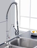 Недорогие -реклама изготовленного на заказ популярного дизайна горячая 2 способа вытягивает вниз смеситель кухни крана faucet