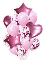 Недорогие -эмульсия на воздушном шаре 14 день рождения